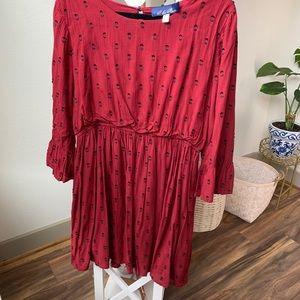 Cute Francesca's maroon dress